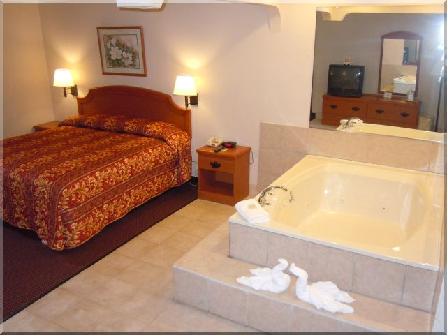 Relax in our Jacuzzi here at Bays Inn & Suites!